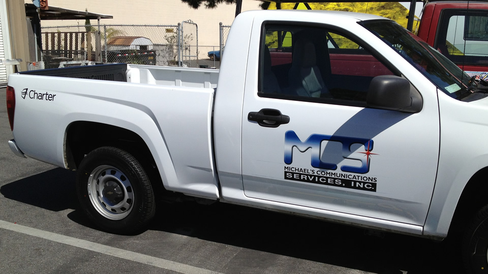 Truck Lettering for MCS
