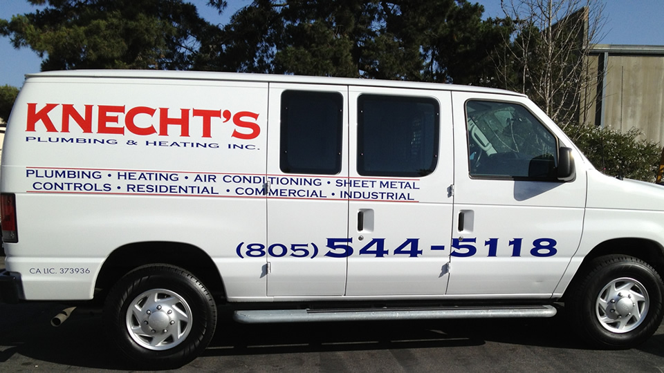 Van Lettering for Knecht's