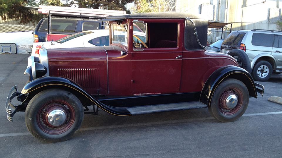 Vintage Car Pinstriping