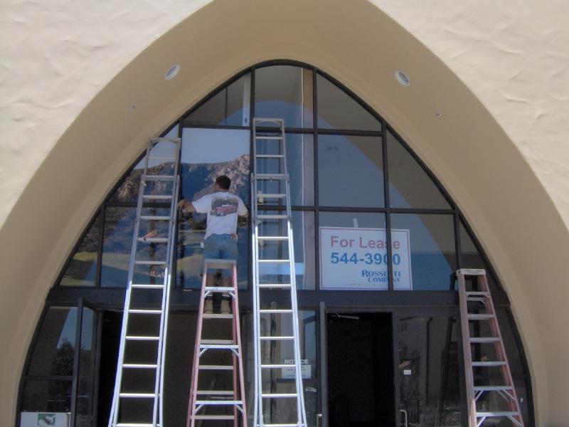 Window Print for Heritage Oaks Bank