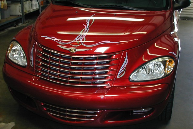 Hand Painted Pinstriping