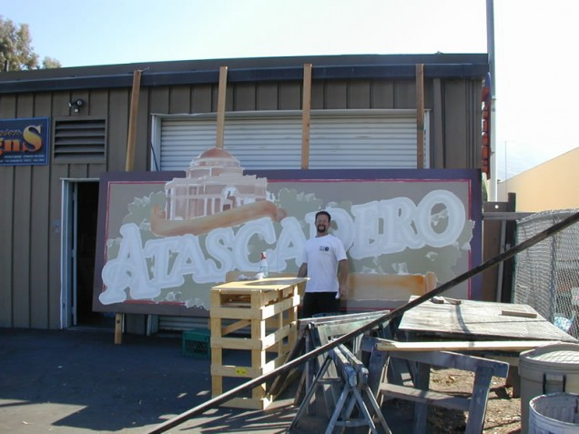 Hand Painted Signage for Atascadero