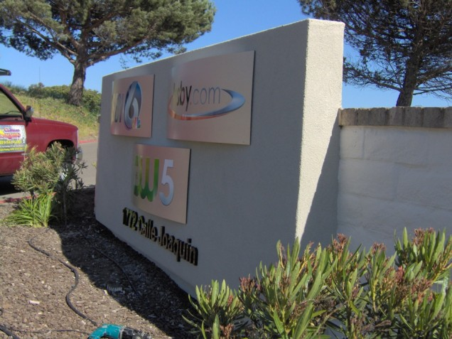 Aluminum Signs for KSBY