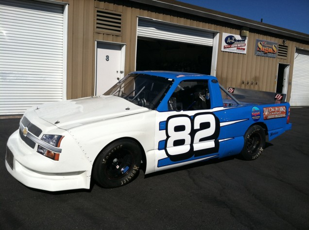 Racing Truck Wrap