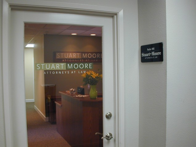 Interior Wall Signs for Stuart Moore, Attorneys at Law