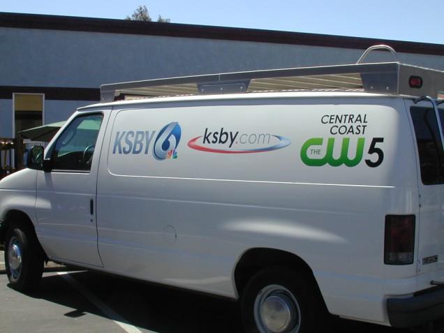Van Lettering for KSBY