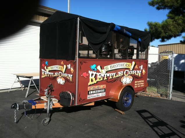Trailer Wrap for G Brothers