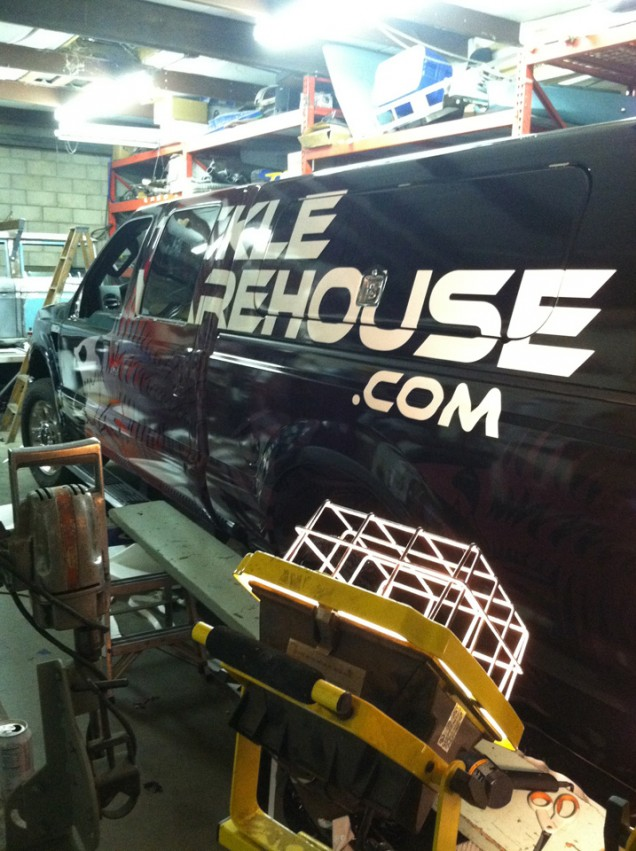 Truck Wrap for Tackle Warehouse