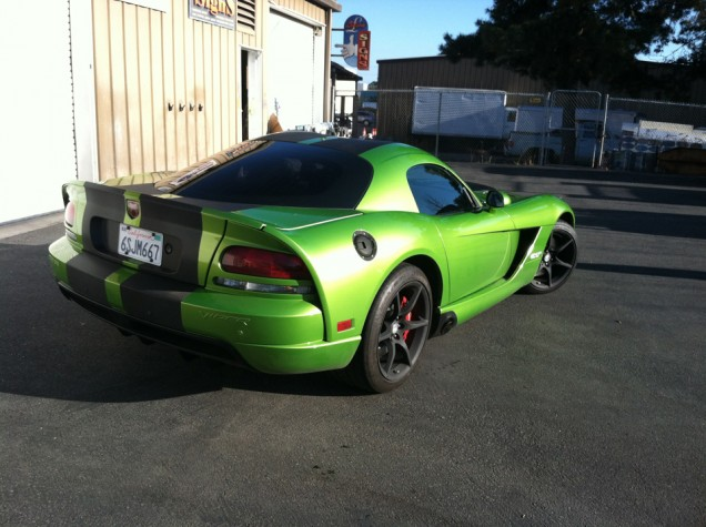 Dodge Viper Carbon Fiber Racing Stripes