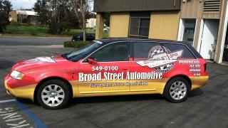 Audi Full Car Wrap for Broad Street Auto