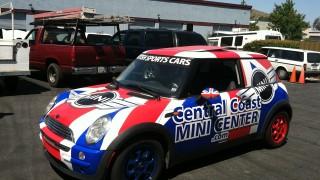Car Wrap for Central Coast Mini Center