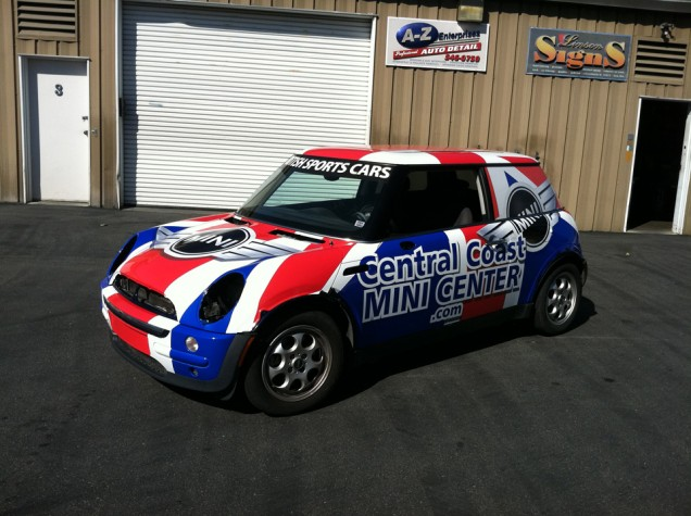Car Wrap for Central Coast Mini Center