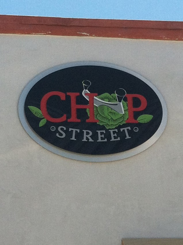 Restaurant Building Signs for Chop St.