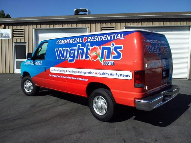 Fleet Vehicle Wraps for Wighton's