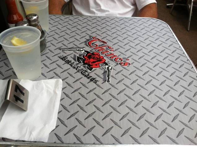 Table Top Wraps for Chino's