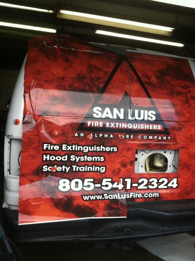 Van Wrap for Alpha Fire