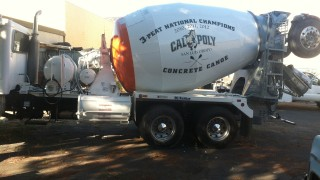 Truck Vehicle Lettering for Hanson's Aggregates