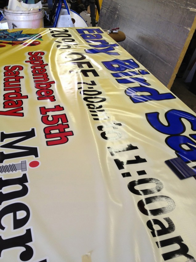 Banners for Miners Hardware