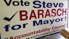 Political Signs for Steve Barasch
