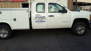 Vehicle Lettering for Rice Heating and Air Conditioning