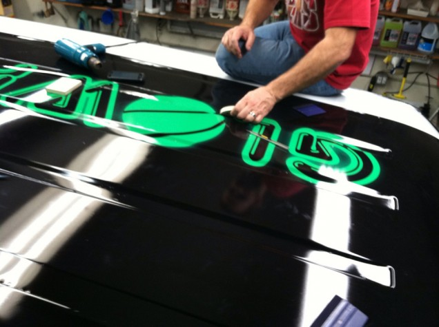 Full Vehicle Wrap for Glow Pong