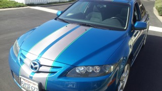 Mazda 6 Racing Stripes