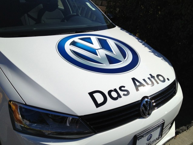 Car Lettering for Perry VW of SLO