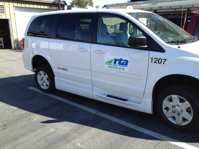 Van Lettering for Rapid Transit Authority