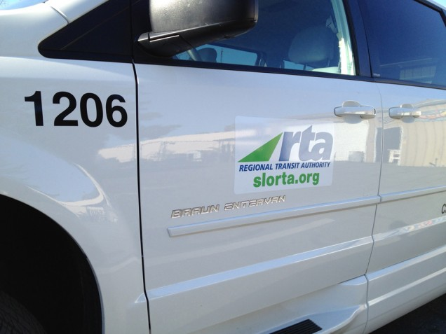 Van Lettering for Rapid Transit Authority