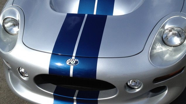 Shelby Series 1 Racing Stripes