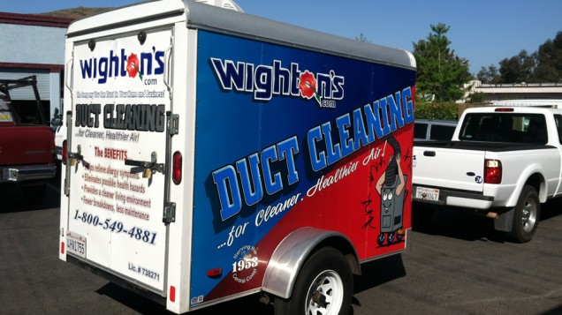 Partial Trailer Wrap for Wightons
