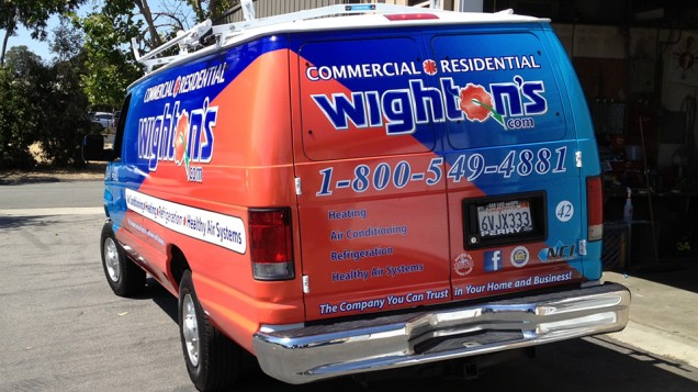 Van Vehicle Wrap for Wighton's