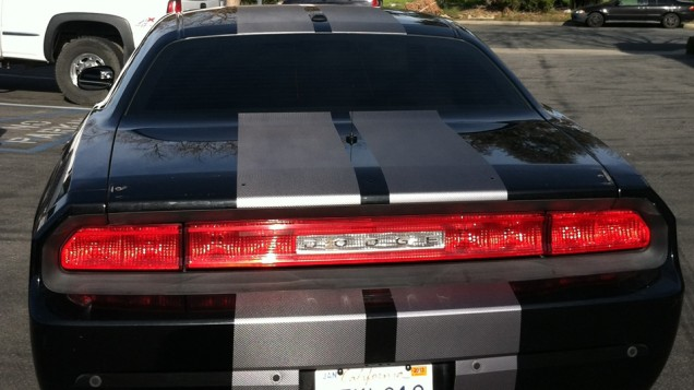 Dodge Challenger Racing Stripes
