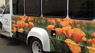 Partial Bus Wrap for Cambria Community