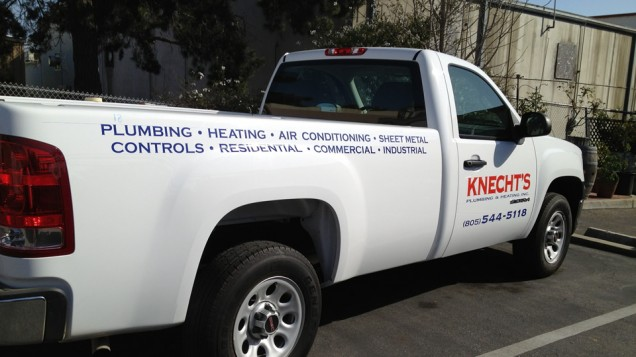 Truck Lettering for Knecht's