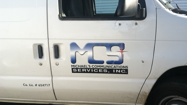 Van Lettering for MCS