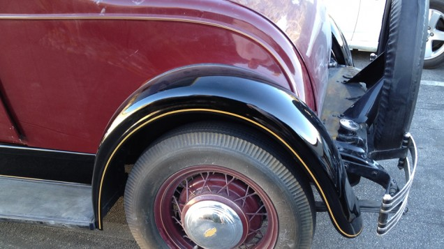 Vintage Car Pinstriping
