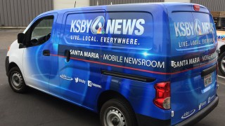Partial Van Vehicle Wrap for KSBY