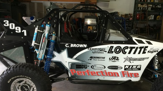 Baja Buggy Vehicle Wrap