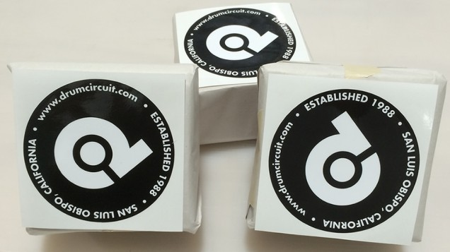 Set of Wrapped Up Stickers ready for Pickup