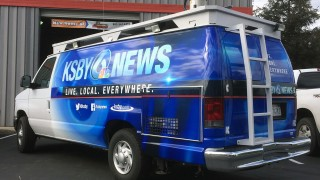 KSBY Van Wrap Completed