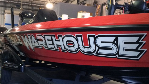 2014 Boat Wrap for Tackle Warehouse