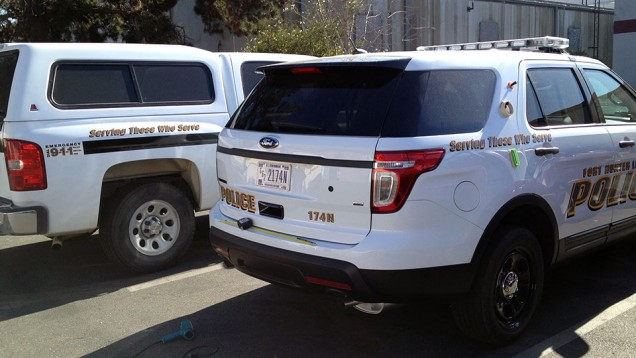 Fleet Vehicle Lettering for Ft. Hunter Liggett