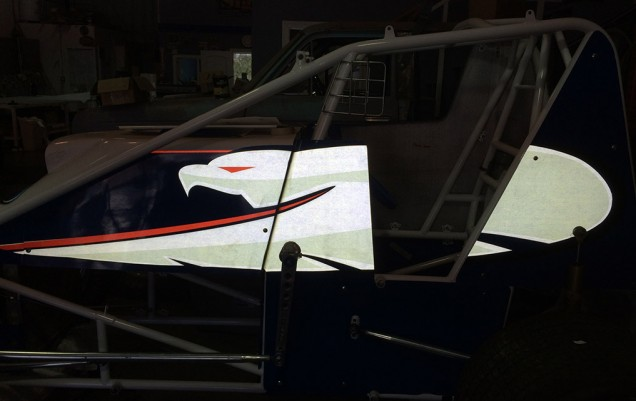 Ford Sprint Car Reflective Vehicle Graphics