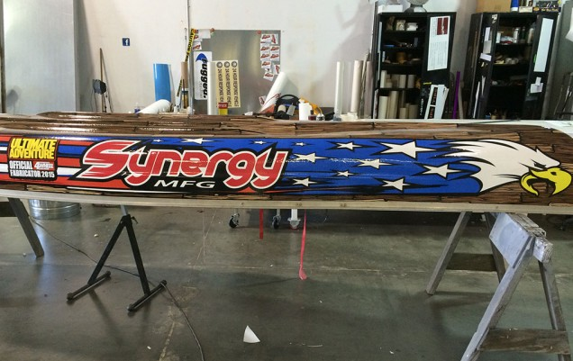 Poly Performance Synergy Canoe Wrap
