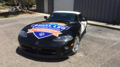 Sheriff's Dodge Viper Vehicle Graphics Special Olympics 2015 in Los Angeles