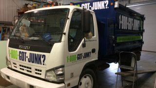1 800 Got Junk Truck Lettering
