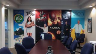 KSBY Conference Room Wall Graphics