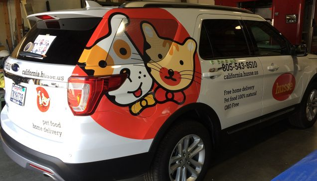 Ford Explorer Vehicle Graphics and Lettering for Husse