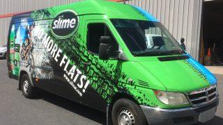 Slime Full Van Wrap